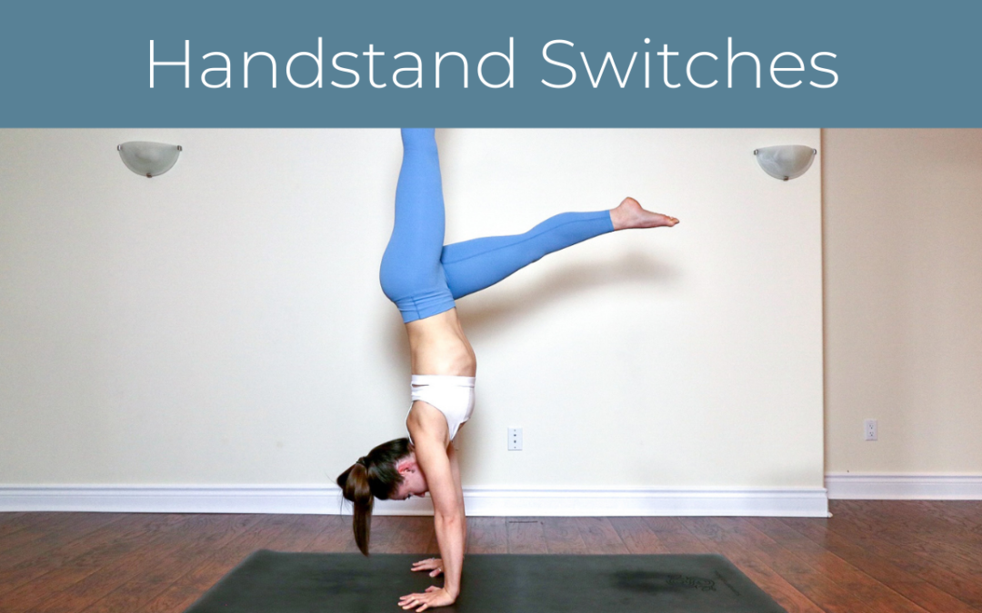 Handstand Switch Kicks
